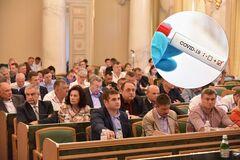 Во Львовском облсовете заболели COVID-19 председатель, депутаты и сотрудники аппарата