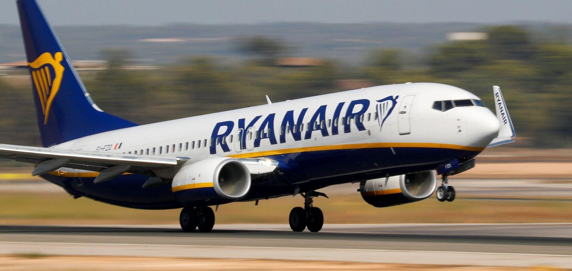 Полеты Ryanair будут приостановлены в сентябре. Фото wing.com.ua