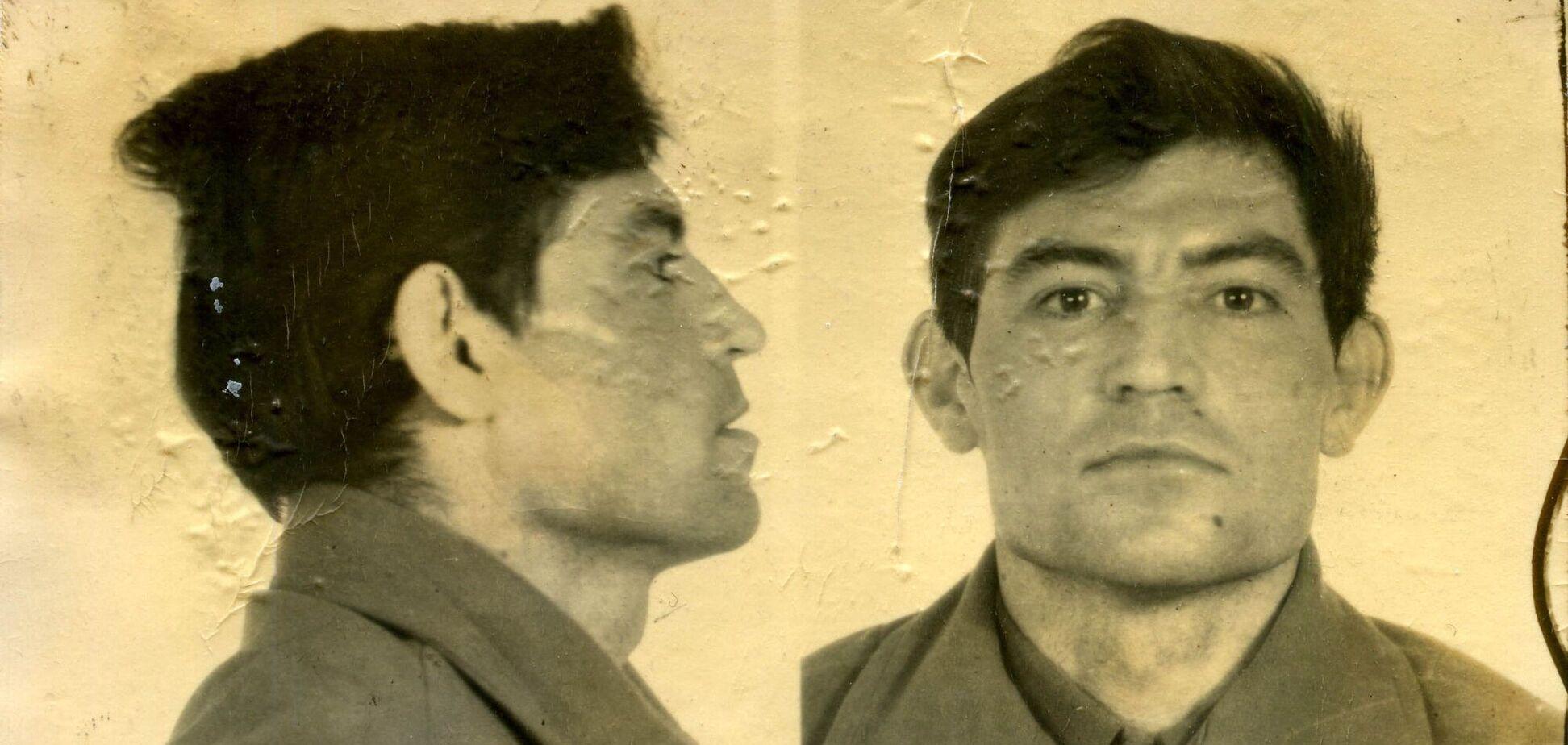 Василий Стус во время первого ареста, 1972 год