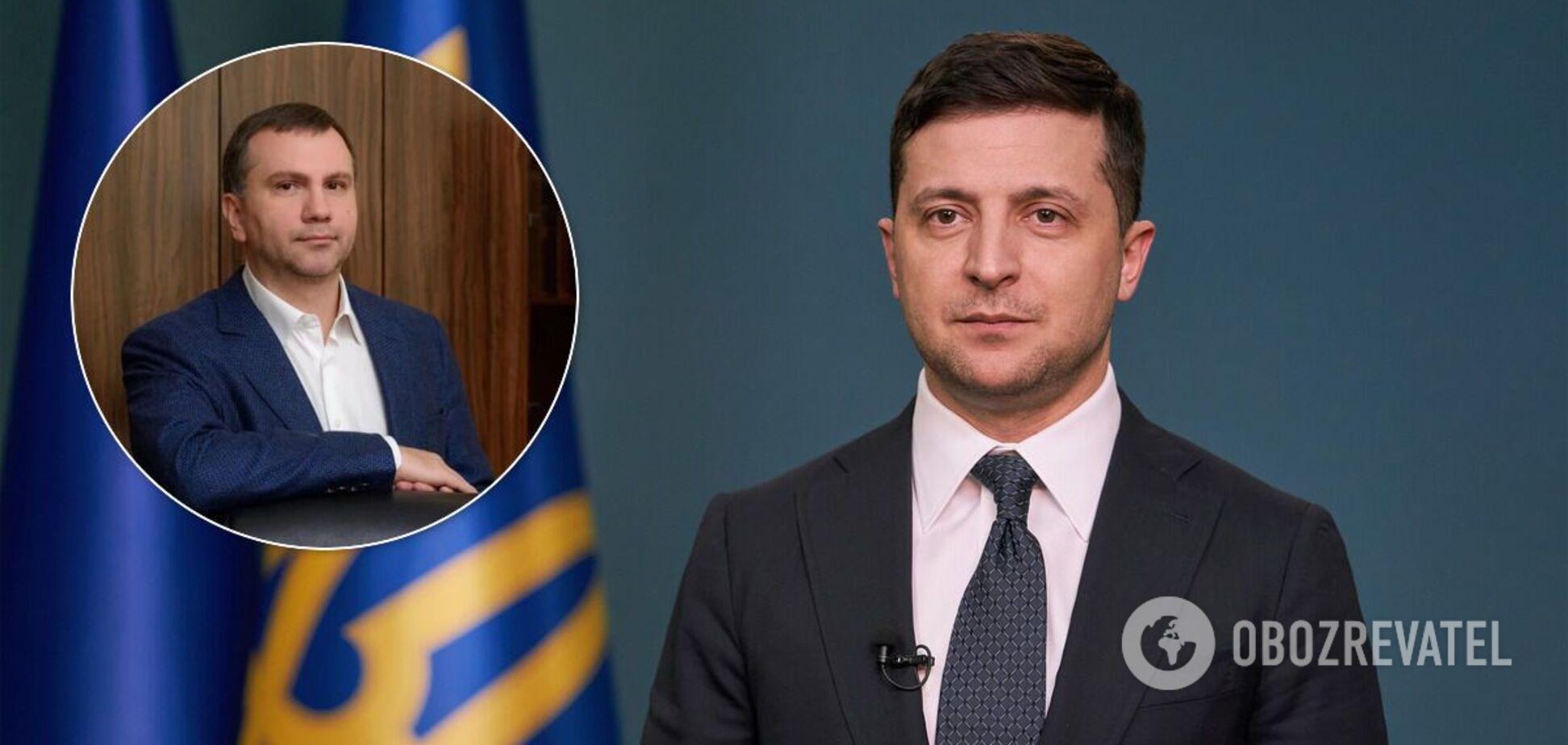 Володимир Зеленський і Павло Вовк