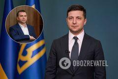 Владимир Зеленский и Павел Вовк