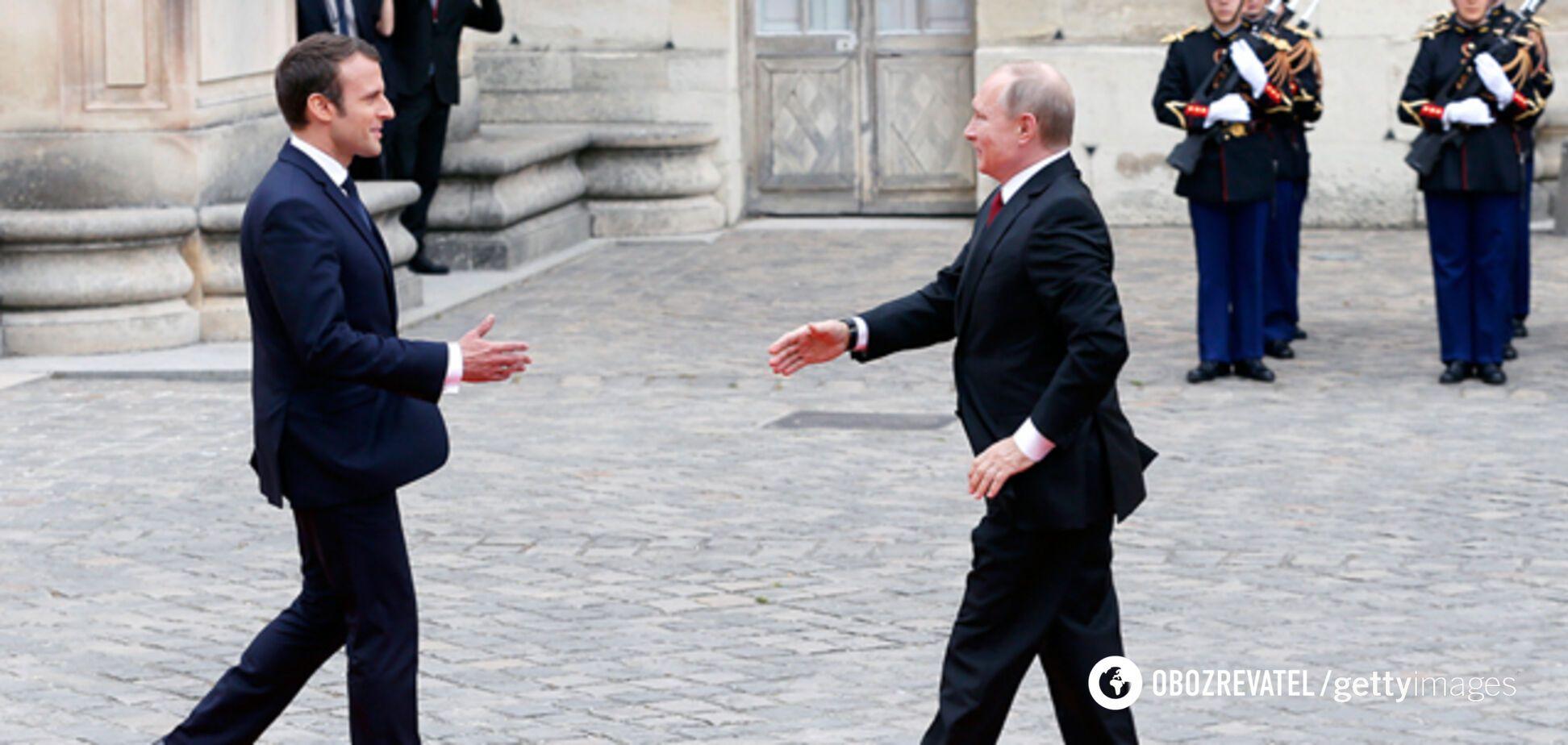 Почему Макрон остается 'другом' Путина
