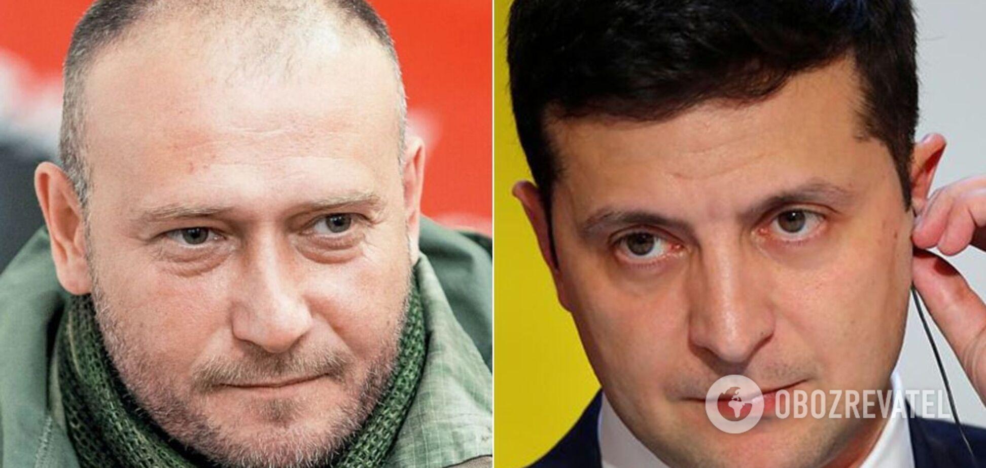 Ярош обратился к Зеленскому с предложением возглавить украинскую делегацию в ТКГ