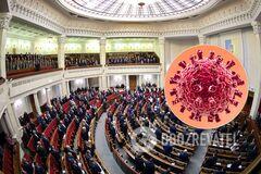 Коронавирус в Верховной Раде Украины