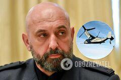 Сергей Кривонос объяснил реакцию России на Osprey над Киевом