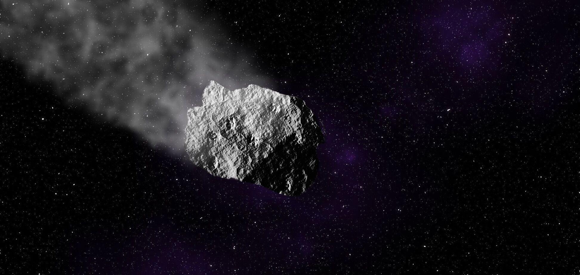 На Землю падают около 2 тысячтонн метеоритов в год. Иллюстрация