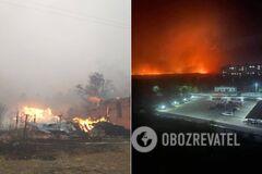 На Луганщині спалахнуло 85 пожеж