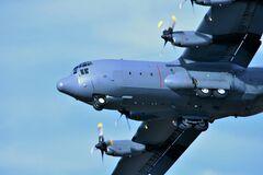 C-130 Hercules здійснив аварійну посадку в Одесі