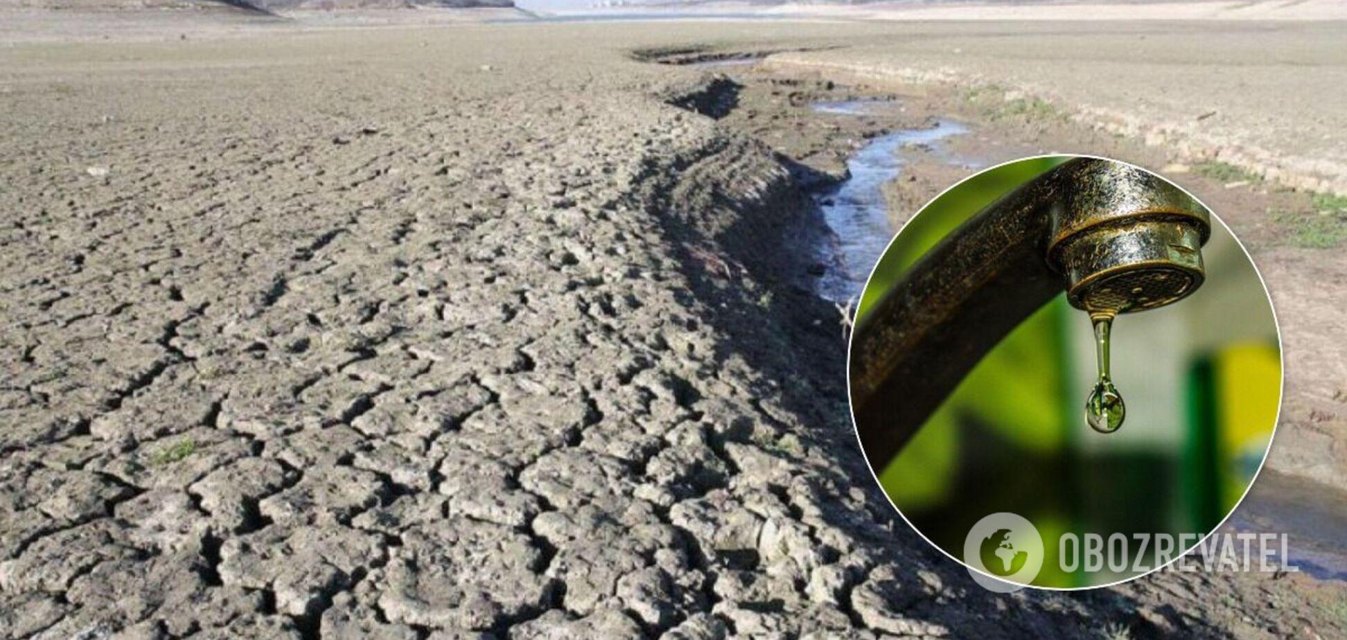 В Крыму ощущают нехватку воды