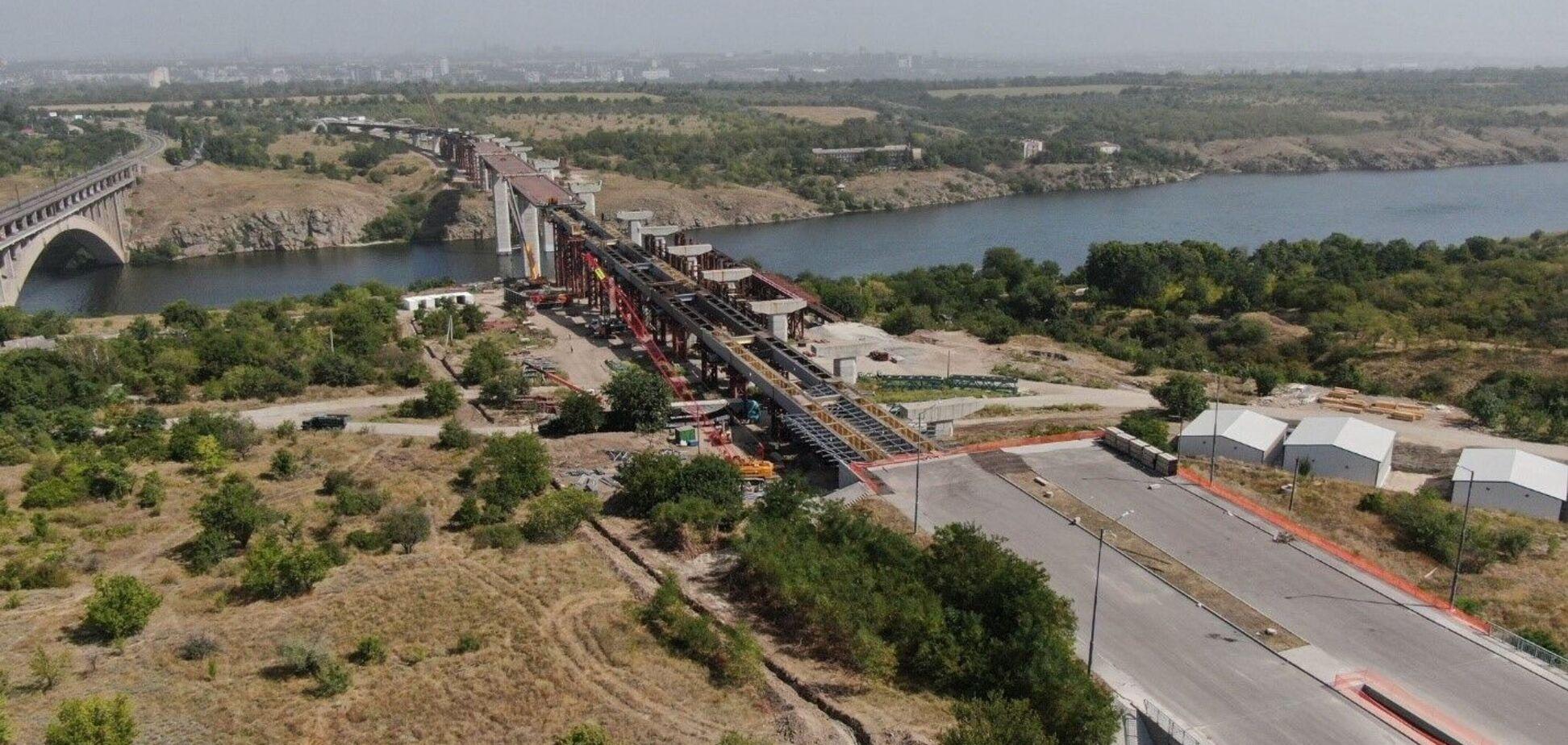 Опубліковано фото найшвидшого і наймасштабнішого будівництва України