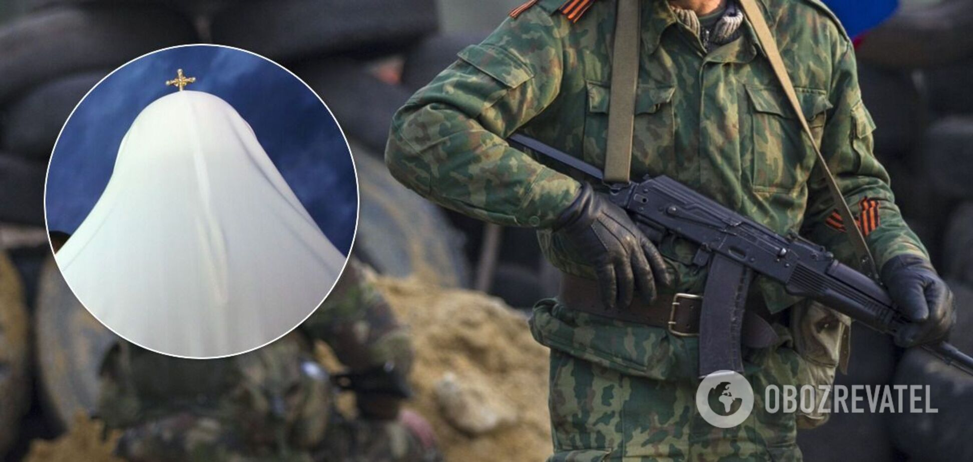 Священник одного из полков террористов участвовал в допросах воинов ВСУ