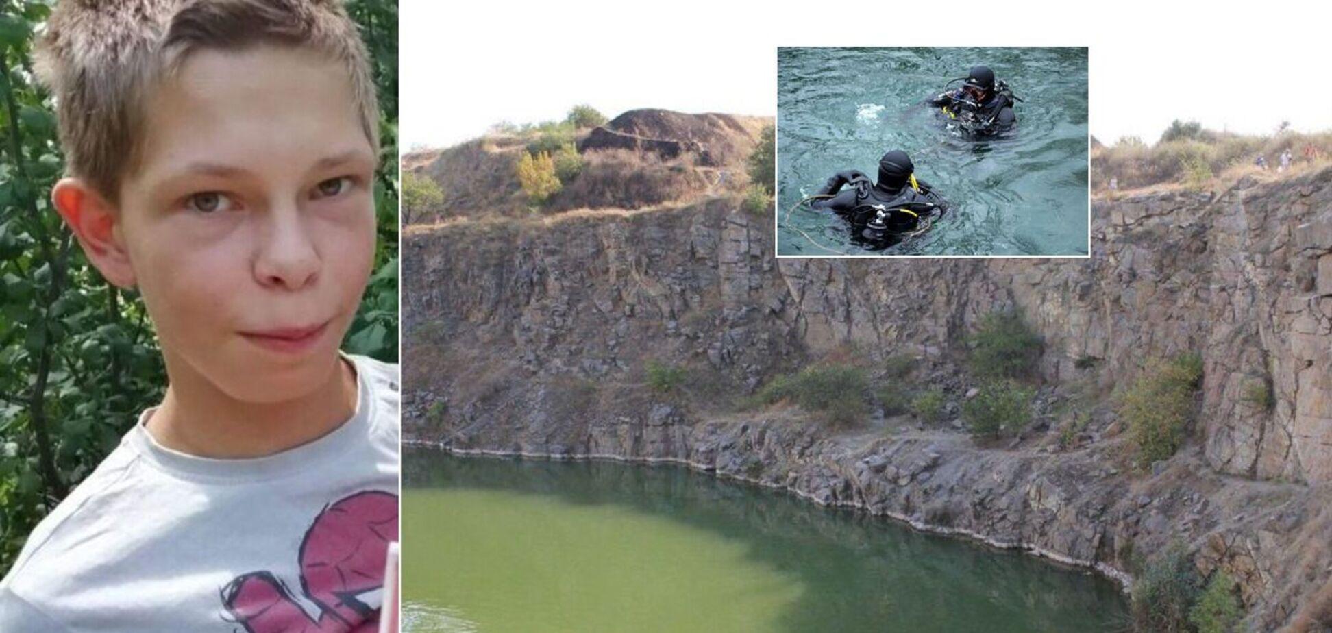 Під Дніпром тіло зниклого підлітка знайшли в кар'єрі