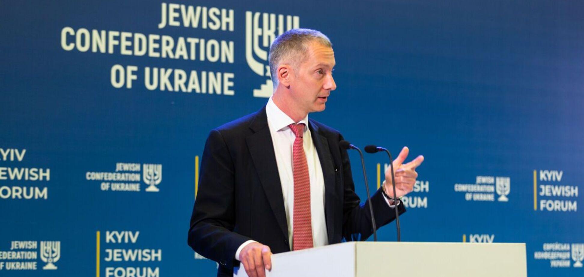 Ложкин: второй Kyiv Jewish Forum откроет новые возможности для обсуждения глобальных проблем и нашей истории