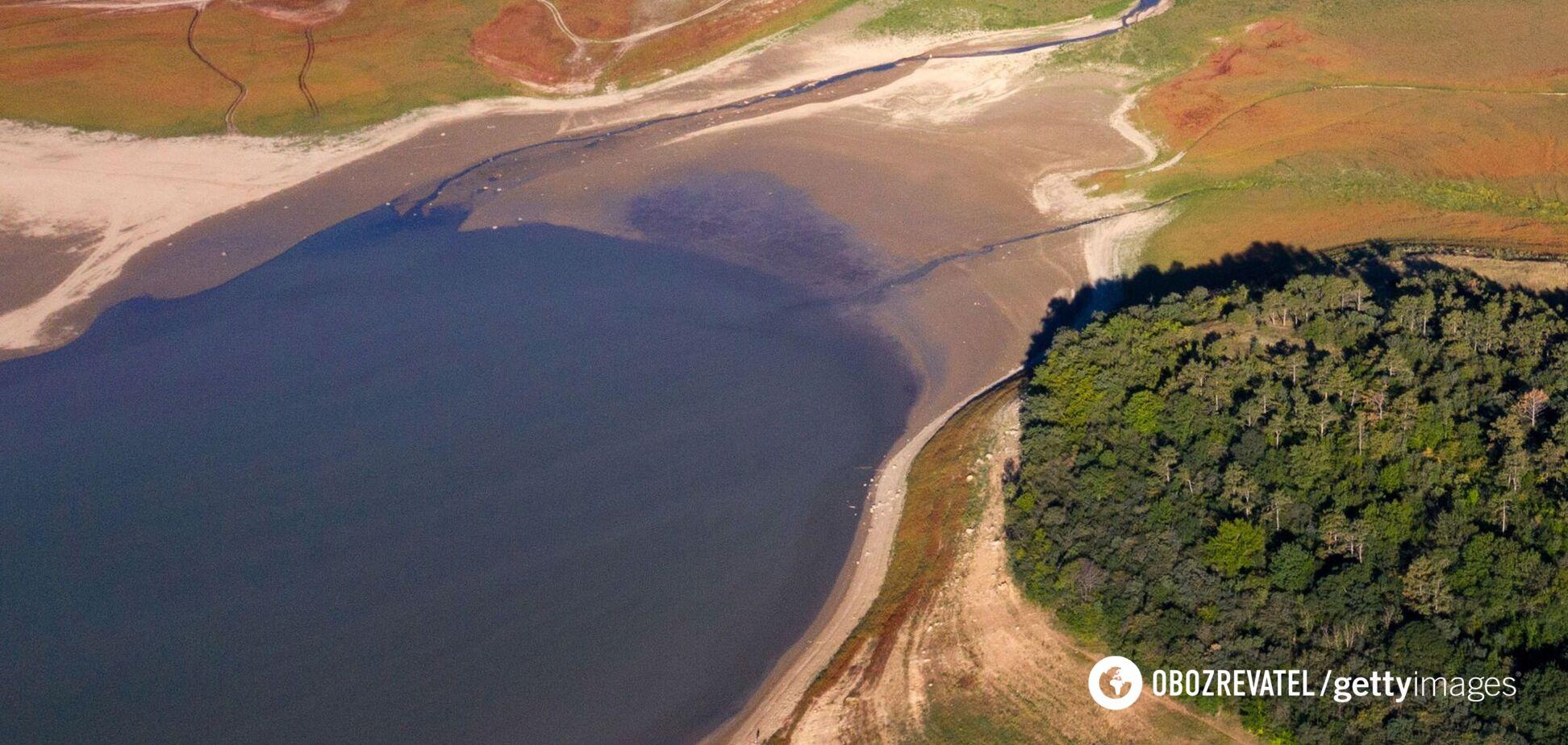 дефіцит води в Криму