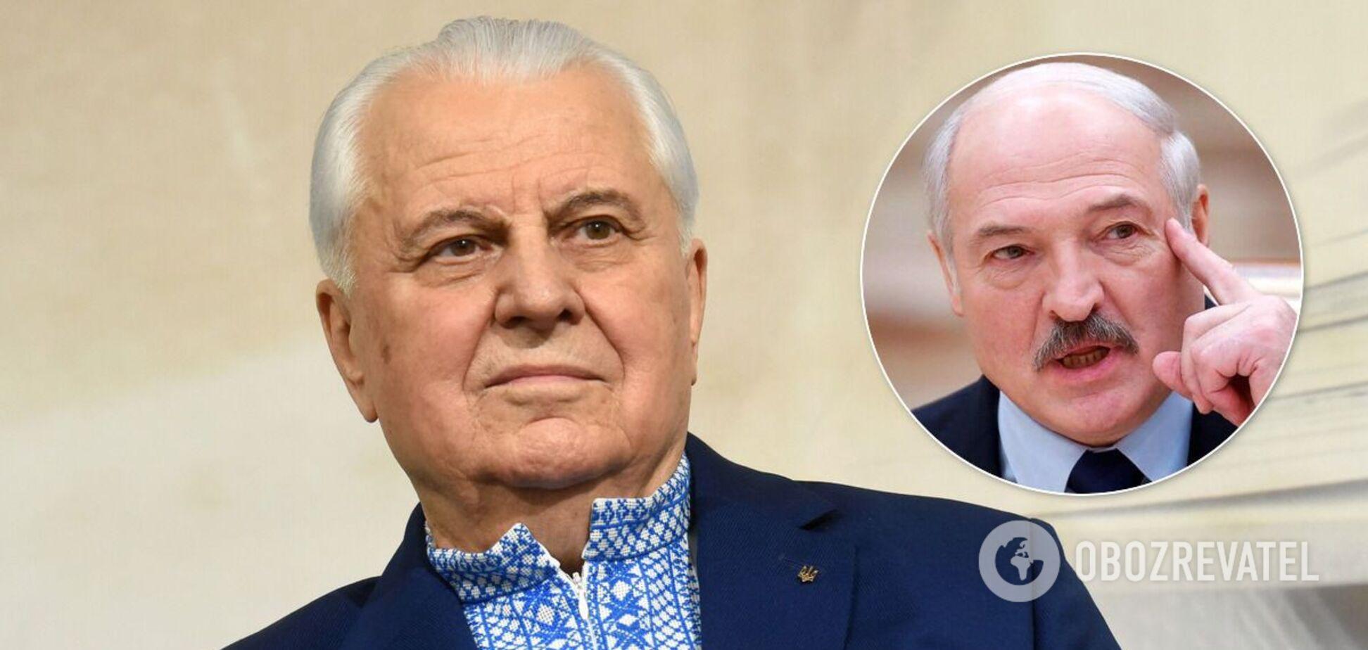 Леонід Кравчук прокоментував протести проти Олександра Лукашенка. Джерело: Колаж