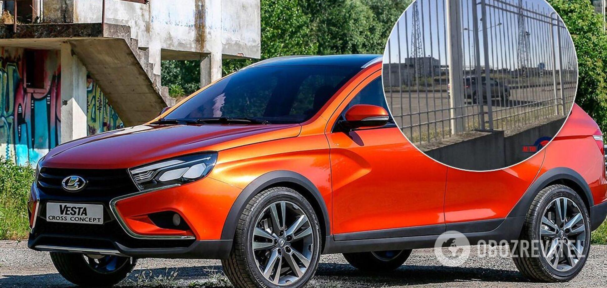 Нова модель Lada засвітилася під час тестів на заводі ЗАЗ