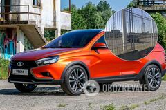 Новая модель Lada засветилась во время тестов на заводе ЗАЗ