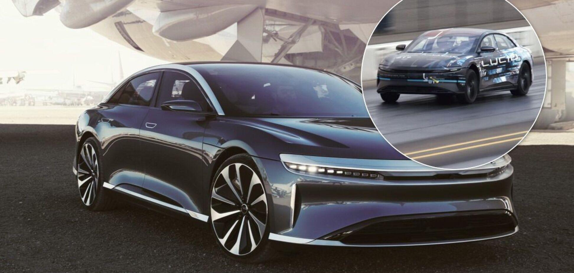 Новий електричний седан з США переміг Tesla Model S