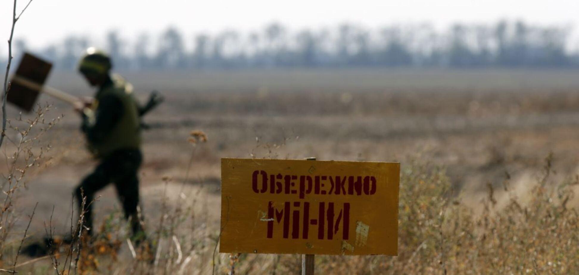 ОБСЄ виявила міни терористів поблизу ДАПу