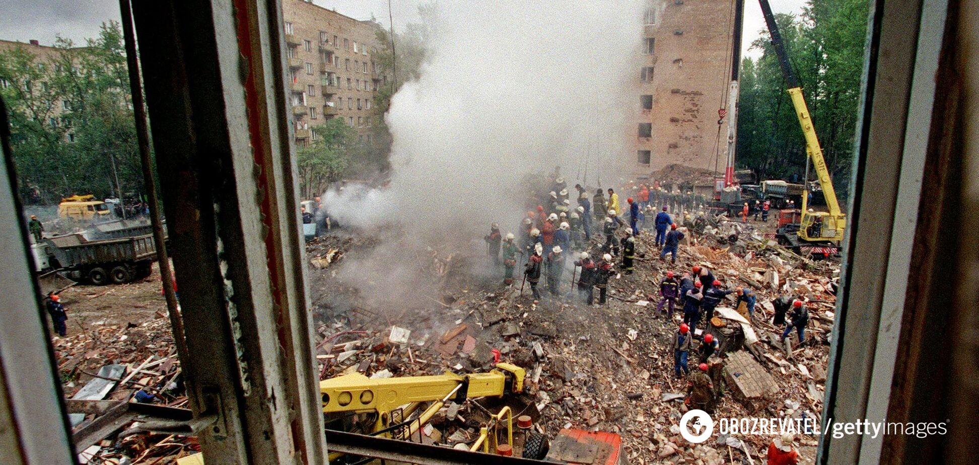 Жертвами взрывов в жилых домах в России стали 307 человек, более 1700 пострадали