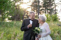 60-летие брака Люсиль и Марвин Стоун отпраздновали фотосессией