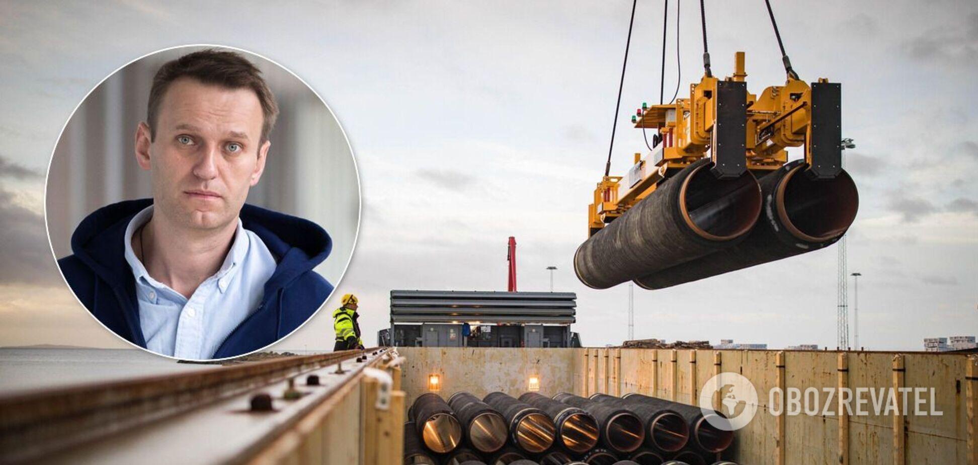 Немецкие политики изменили позицию по 'Северному потоку-2' из-за отравления Навального
