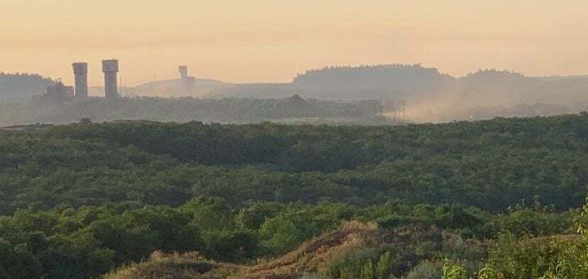 Российская армия собирается нанести удар в районе поселка Шумы. Фото: Facebook Юрия Бутусова
