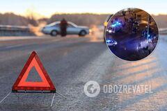 В Виннице BMW въехала в толпу людей, трое пострадавших