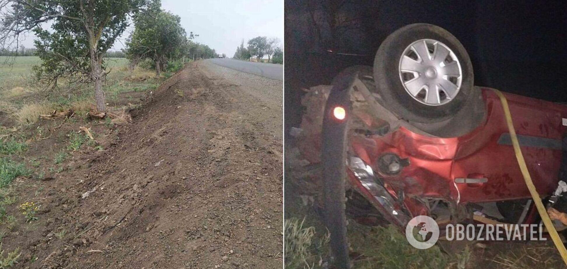 Три дівчини розбилися в ДТП дорогою на український курорт