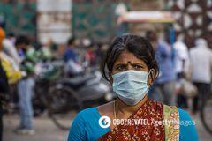 Індія випередила США за кількістю нових заражених COVID-19: статистика на 5 вересня. Оновлюється