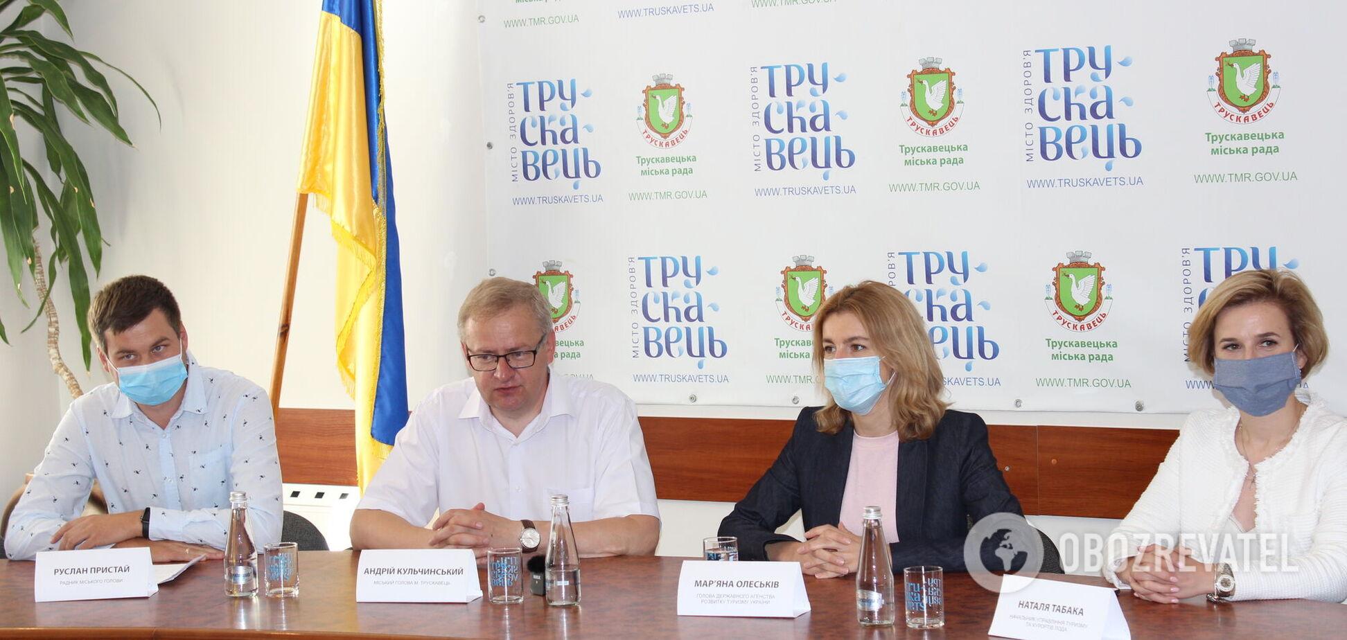 Влада Трускавця просить послабити заборону на в'їзд іноземцям