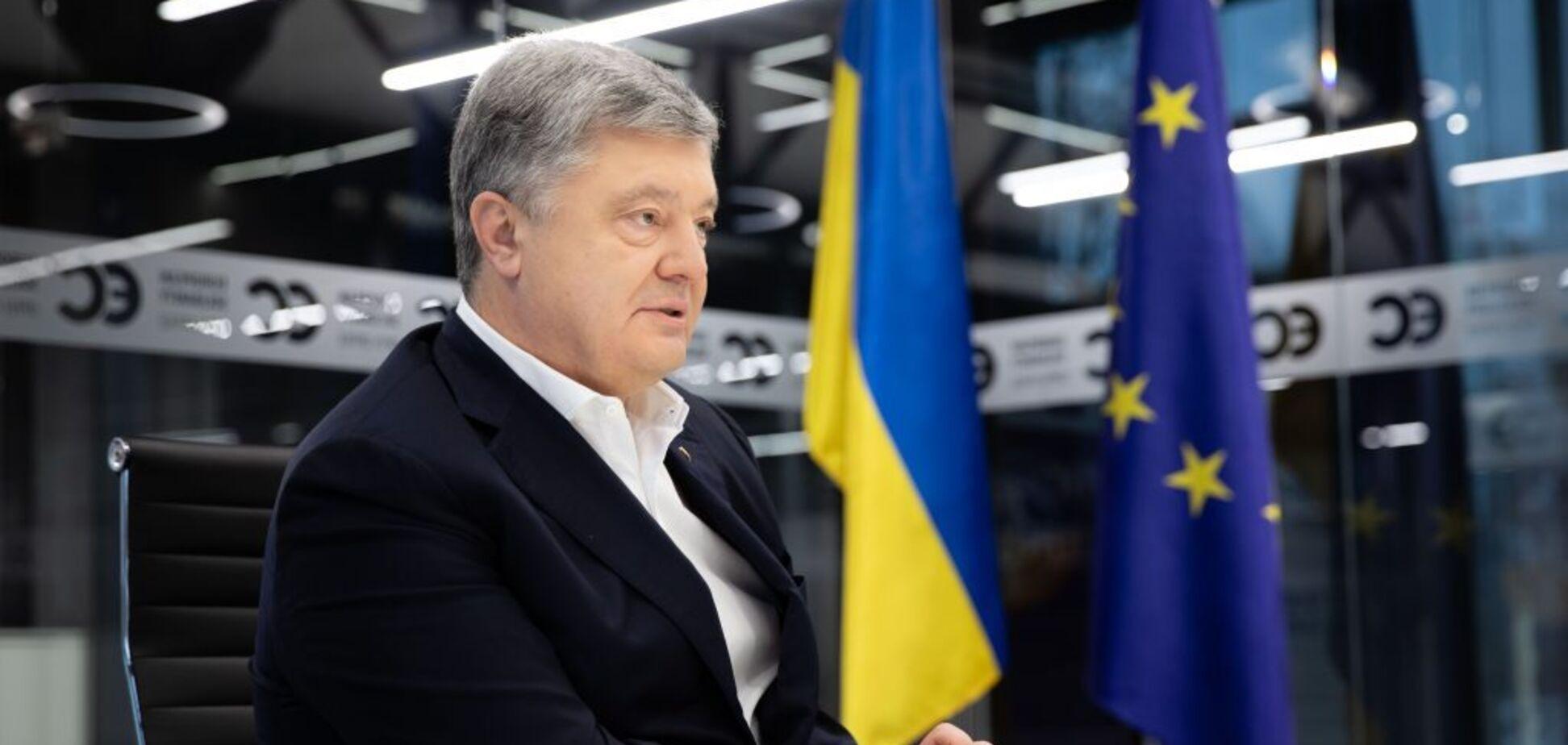 Петр Порошенко прокомментировал персональные российские санкции