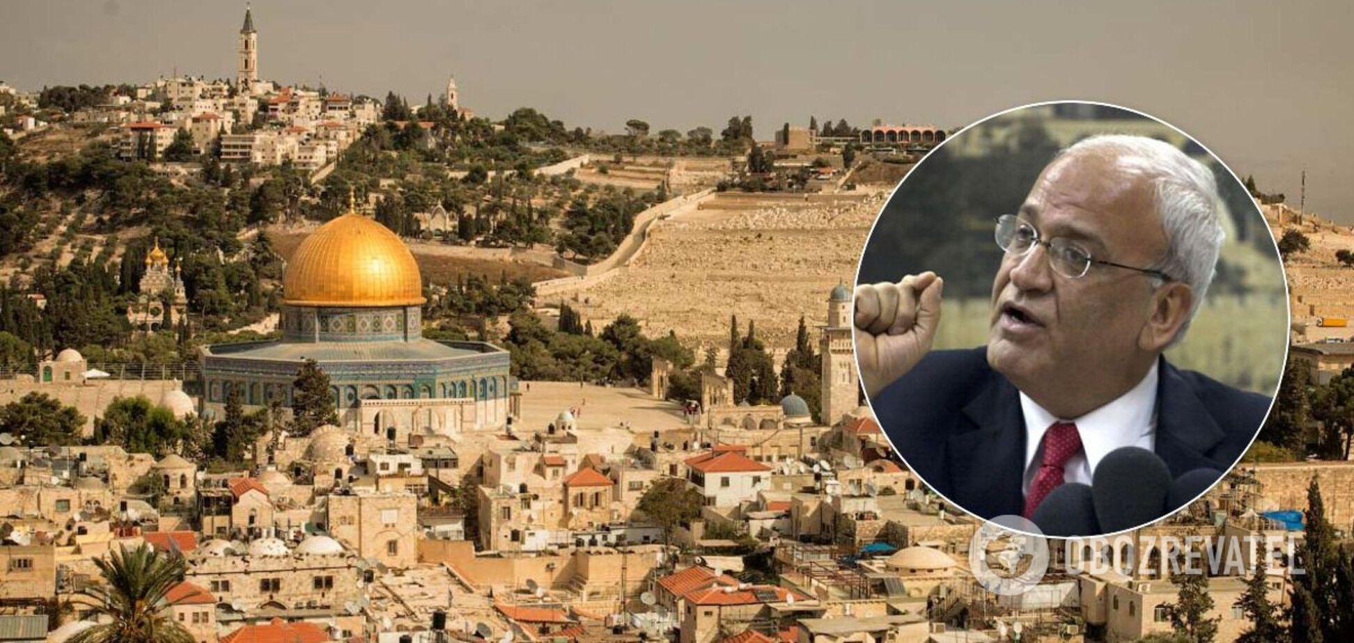 Палестина пригрозила 'порвать' с любой страной