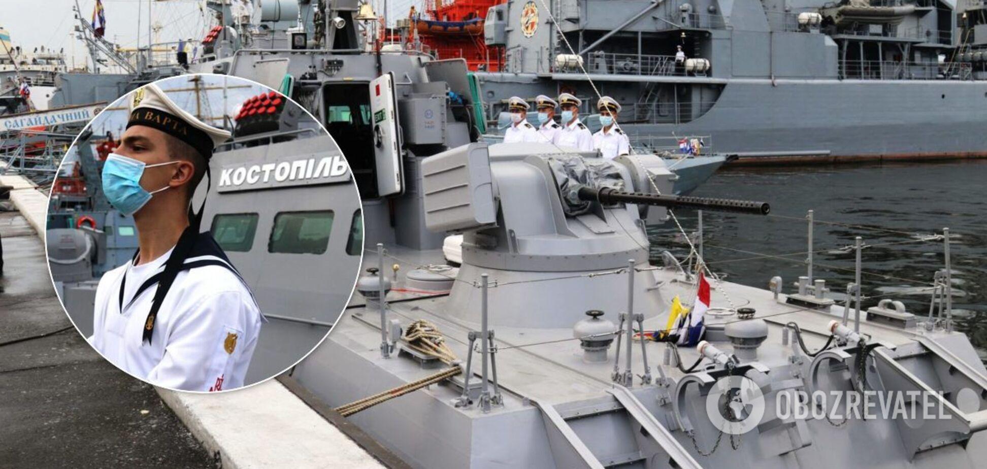 ВМС України поповнилися новим артилерійським катером