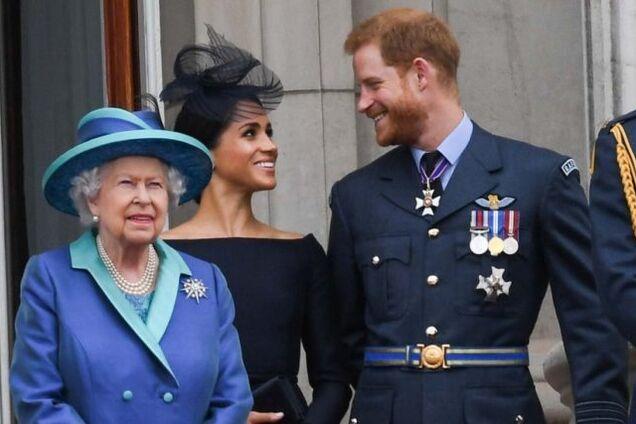Принц Гаррі приховав від Єлизавети II угоду з Netflix