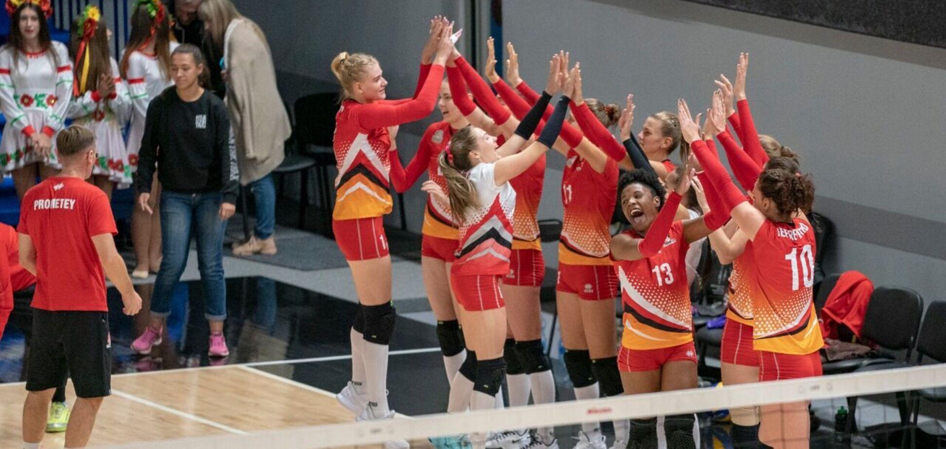 СК 'Прометей' пополнился волейболисткой из сборной Украины