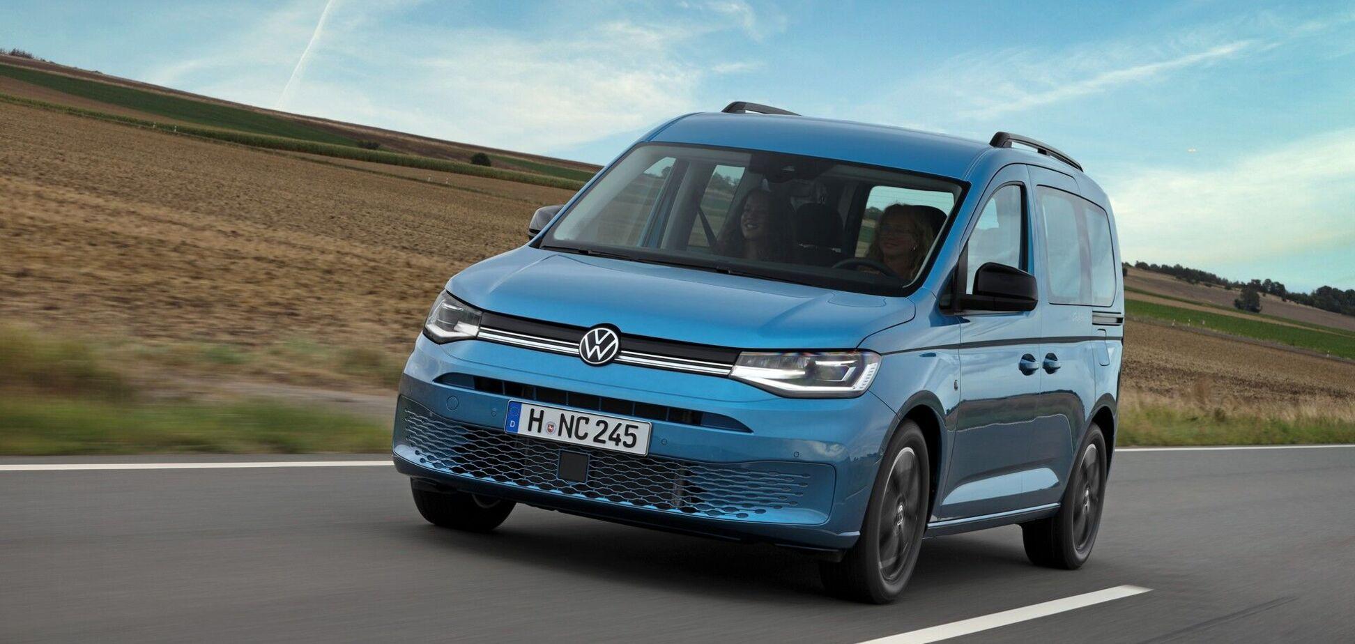 Volkswagen презентував туристичну версію Caddy