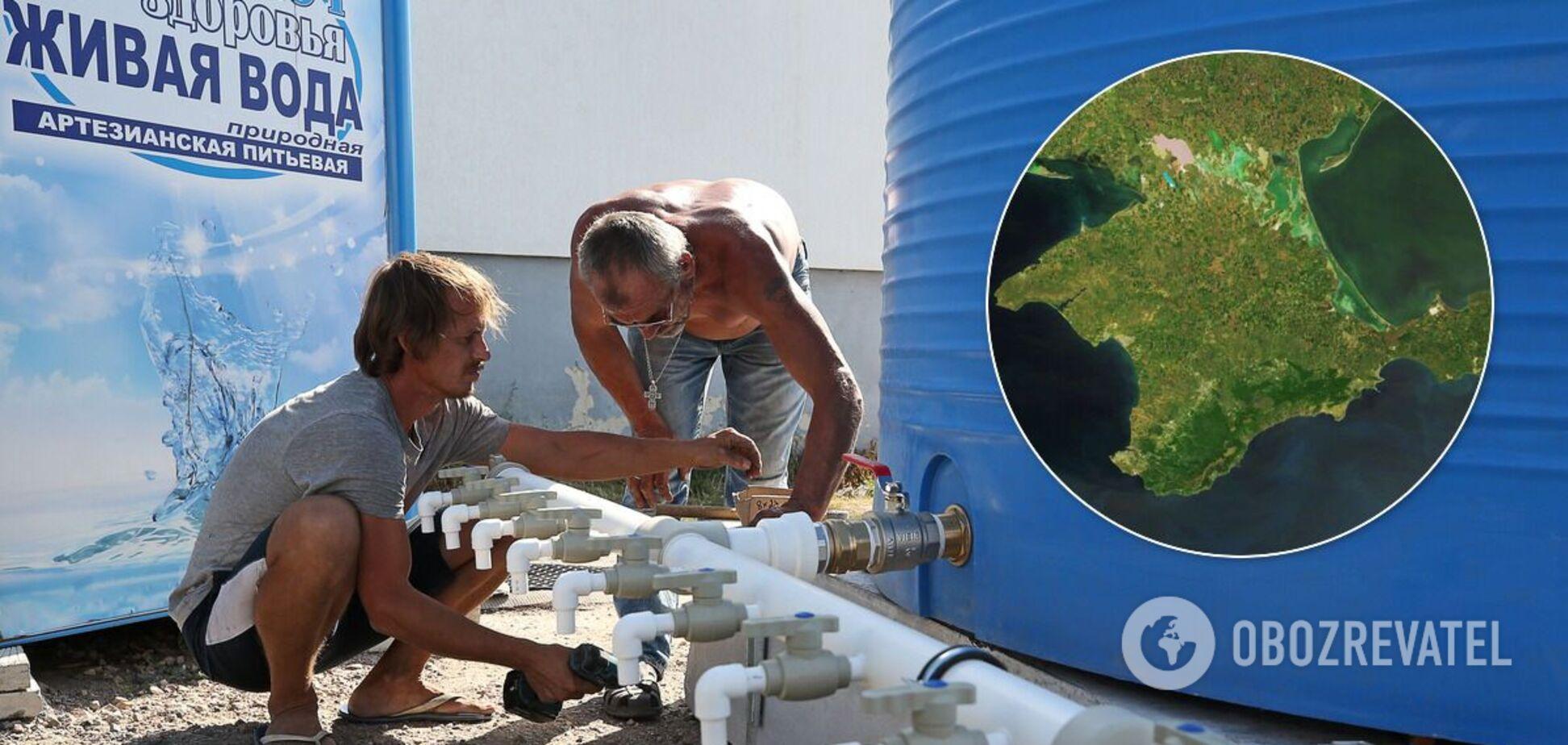 Воду в Крыму начали подавать по графику