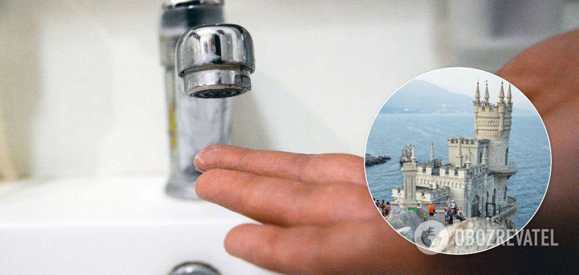 В Крыму ввели почасовую подачу воды