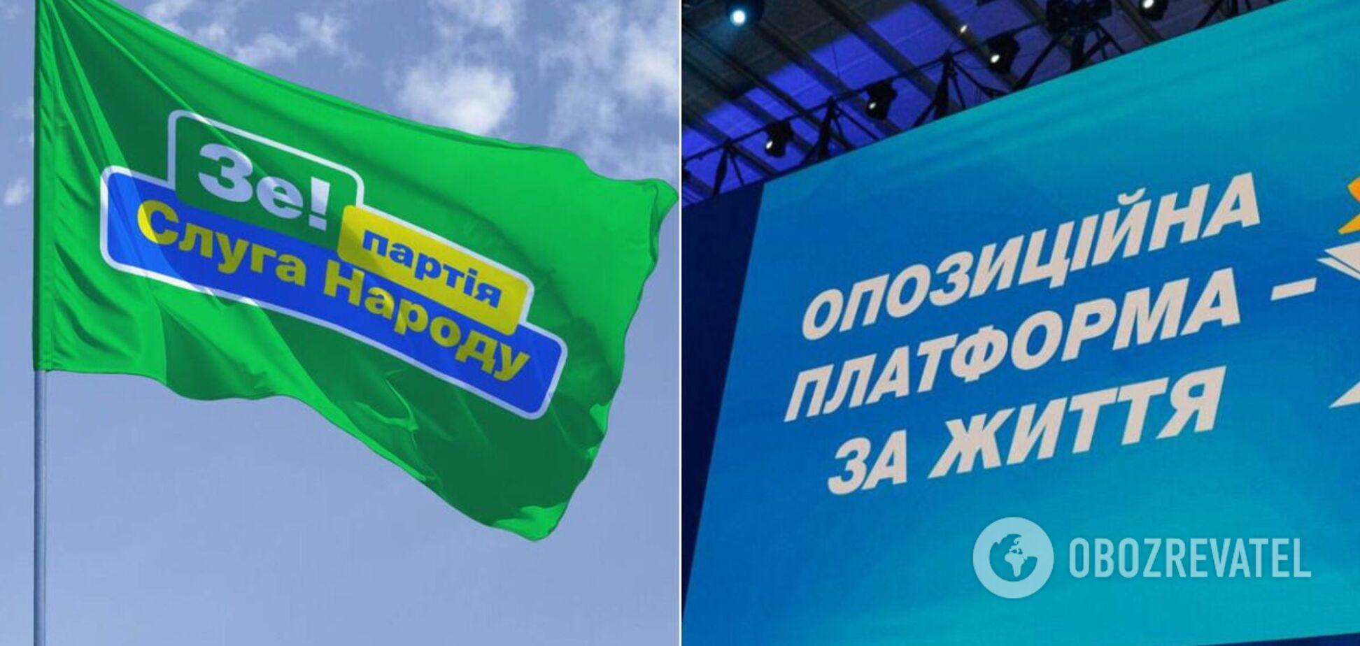 После выборов 'слуги народа' будут работать вместе с ОПЗЖ – СМИ