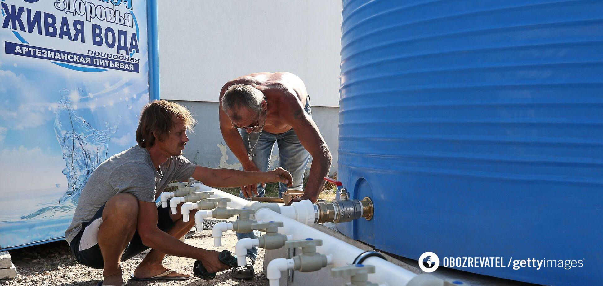 В Крыму возникли проблемы с пресной водой