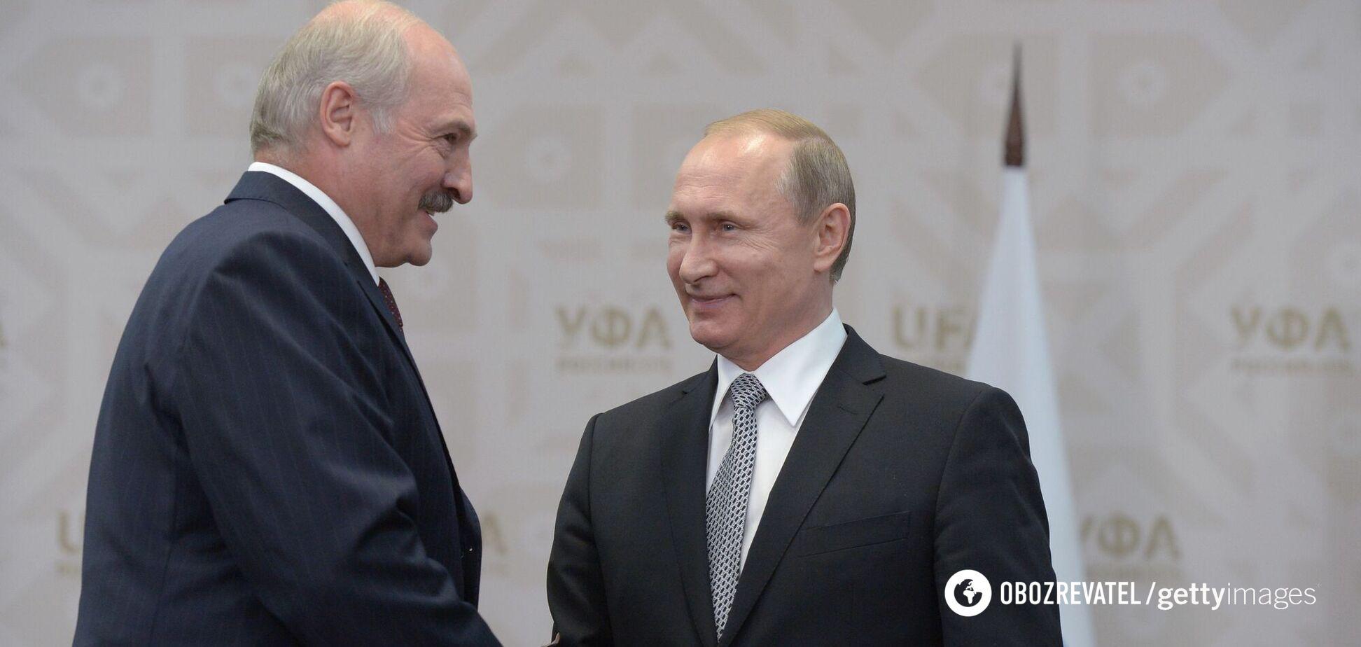 Путін грає з Лукашенком, як з Кучмою та Януковичем