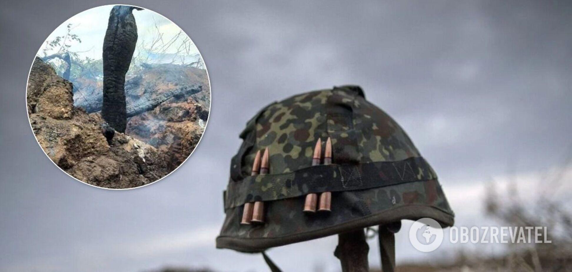 В зоне ООС сгорело шесть позиций ВСУ
