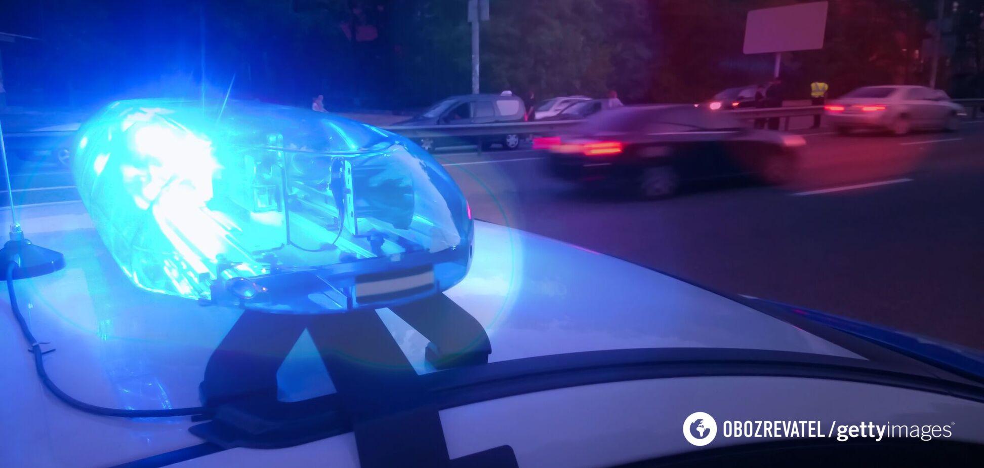 Полиция устанавливает обстоятельства происшествия