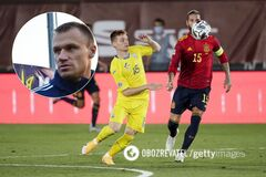 Вячеслав Шевчук прокомментировал поражение Украины в матче с Испанией
