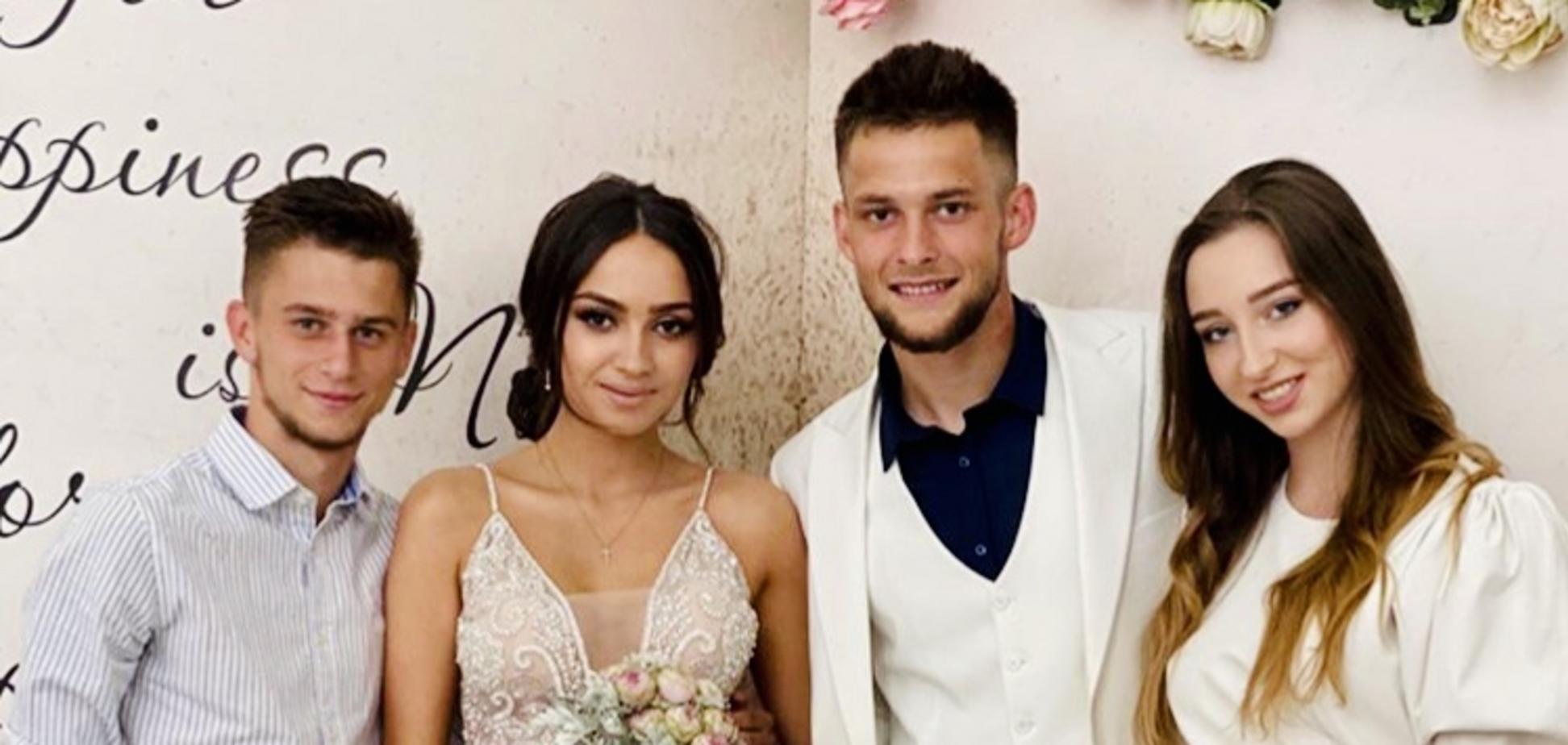 Певица Катя Вандина вышла замуж за нападающего киевского 'Динамо'