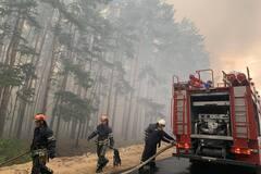 пожара на Луганщине