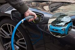 Спрос на электромобили в Украине падает