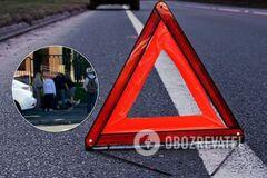 У Києві збили жінку на тротуарі