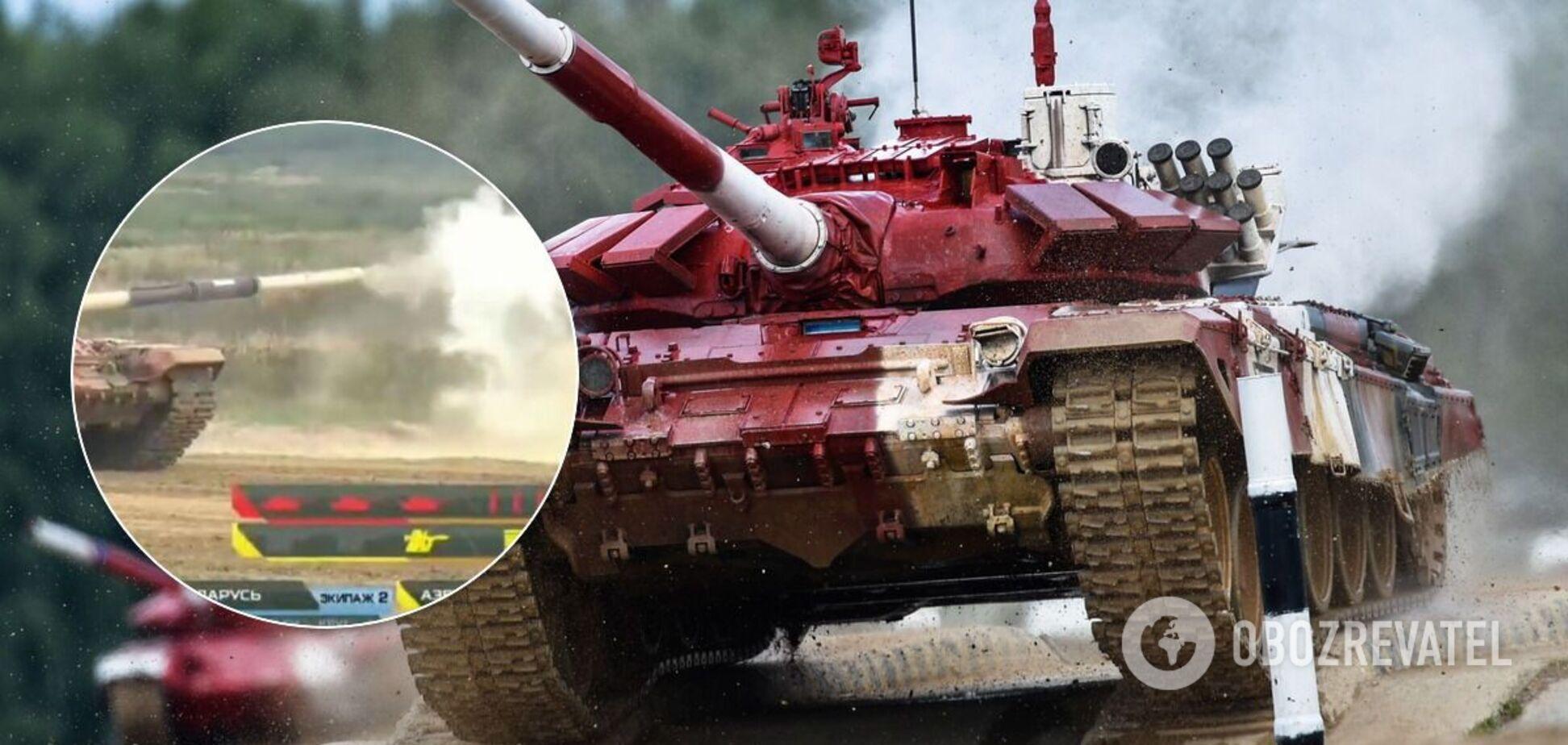 Российские танкисты трижды промахнулись из трех выстрелов